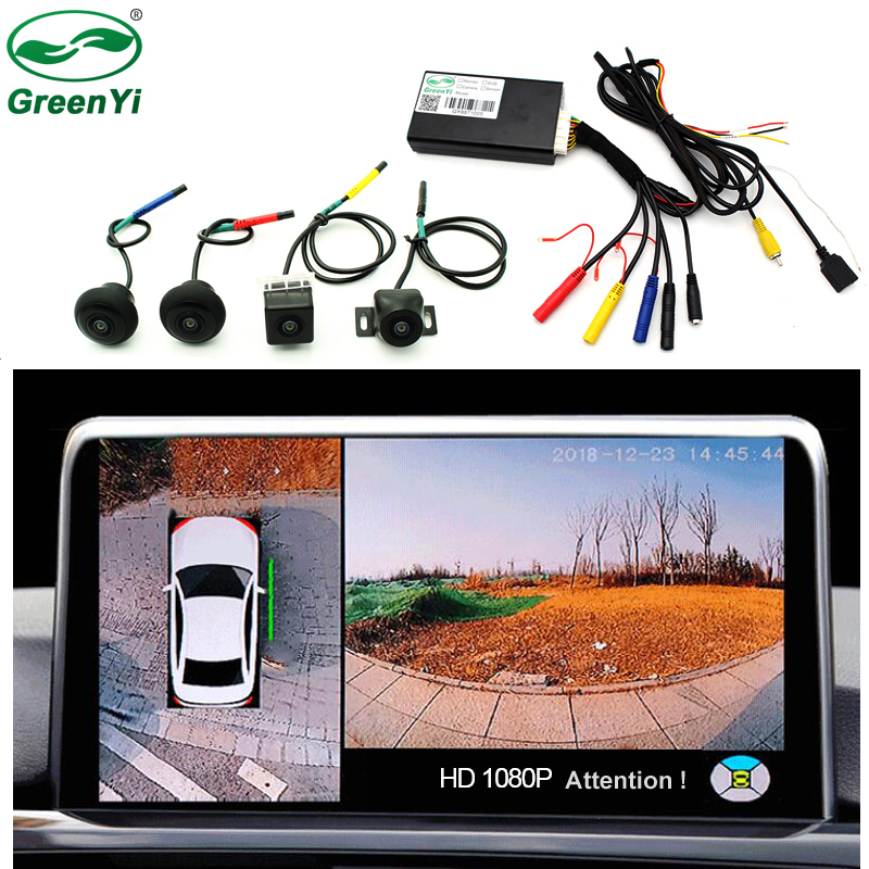 Box Panorama-System Bird-View Car-Parking-Surround-View 4-Camera 360-Degree DVR Video-Recorder