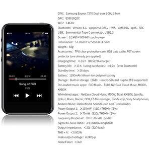 Image 4 - Fiio M6高解像度androidベースの音楽プレーヤーaptx hd、ldacハイファイbluetooth、usbオーディオ/dac、dsdサポートとwifi/エアプレイ