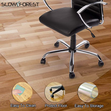 Slow Forest PVC Floor Mat Wooden Floor Protection Rugs Chair Floor Mats Rectangular Carpet Computer Chair Mat Waterproof Rug