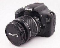 Se Canon 550D 18MP cámara Digital SLR (negro) con EF-S 18-55 lente Kit de tarjeta de memoria de la Cámara bolsa