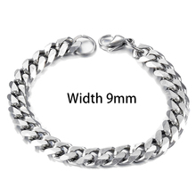 Men's Stainless Steel Cuban Bracelet Can Give Fashion Jewelry