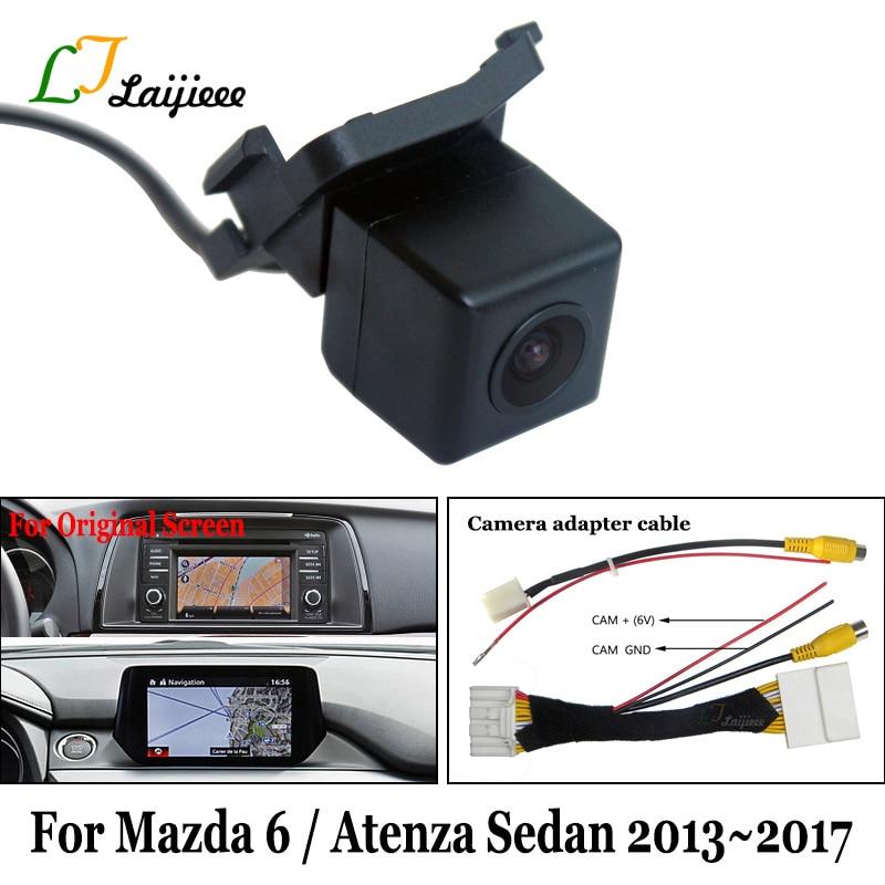 Adapter-Cable Reverse-Camera Mazda6 Rear-Backup Atenza Monitor for 6/Atenza/Mazda6/Sedan