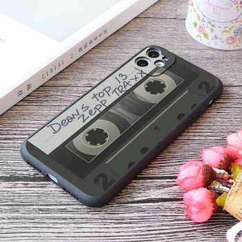 For iPhone Dean's Top 13 Zepp Traxx Print Soft Matt Apple iPhone Case image