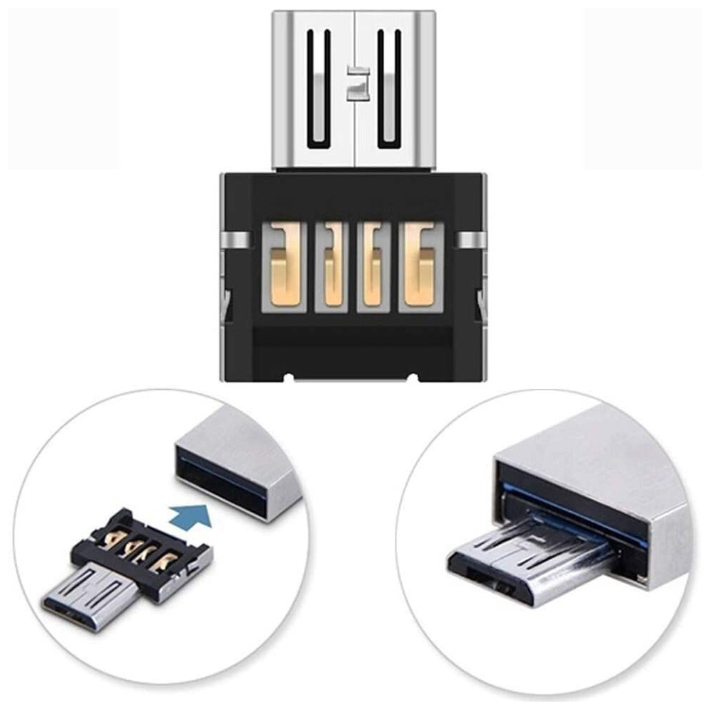 USB Cables Mini 2.0 USB Micro USB Adapter OTG Converter USB A To Micro Adapter For Android Smart Phone Table MicroUSB OTG Device