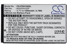 цена на Cameron Sino 1000mAh Battery For Philips Xenium T129 Xenium X100 Xenium X325 ,A20ZDX/3ZP