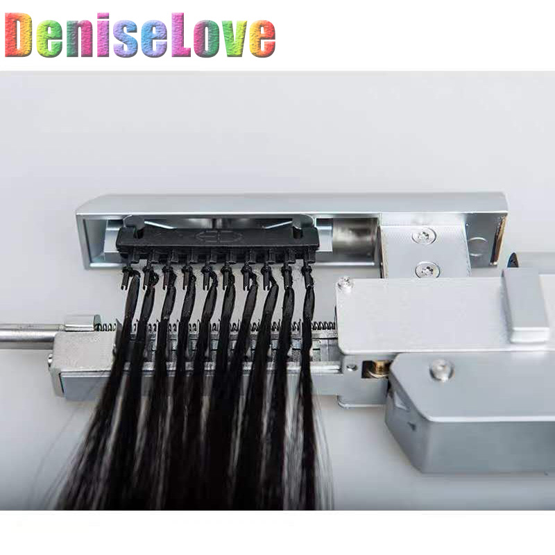 6Dhair extension hair 5pc/set First generation 10 stands /pc 6Dhair extension machine 18-22'