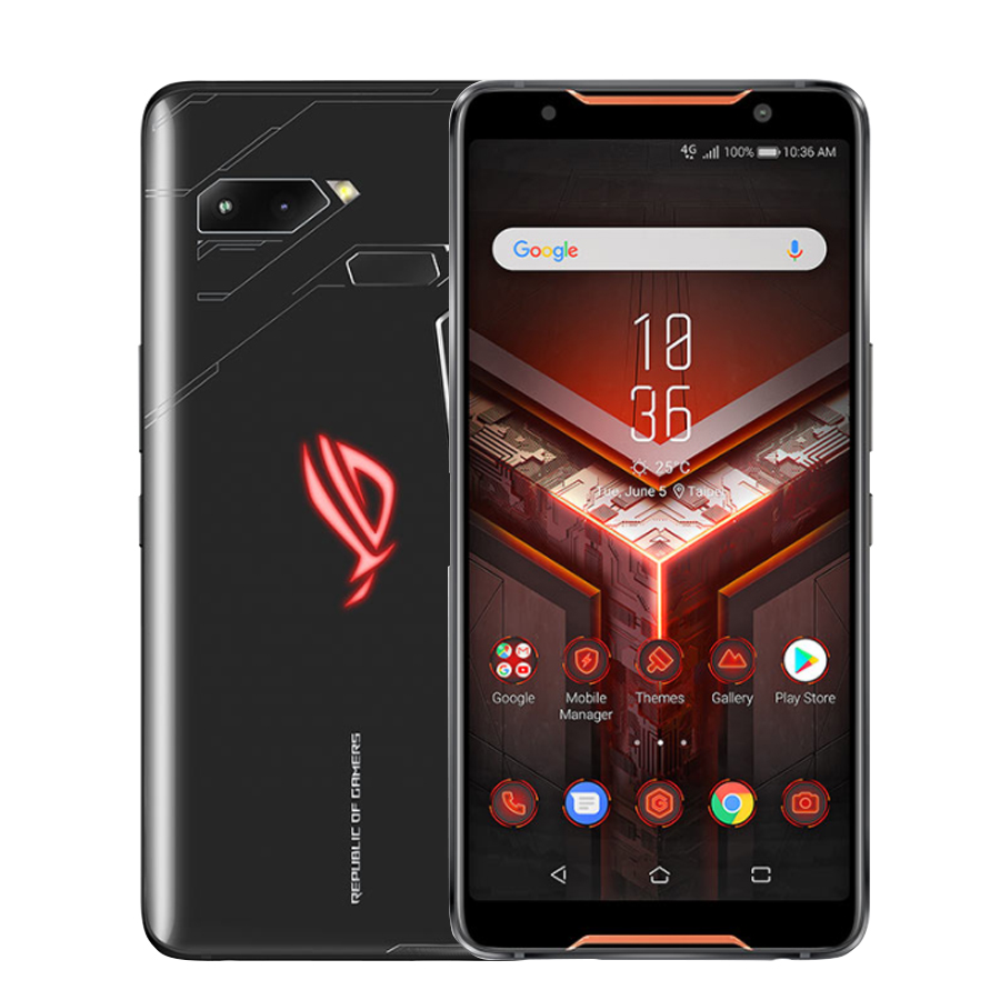 "Global Version  ASUS ROG Phone ZS600KL 6.0"" 8GB RAM 128/512GB ROM Snapdragon 845 Octa Core 4000mAh NFC Android 8.1Dual SIM Phone"