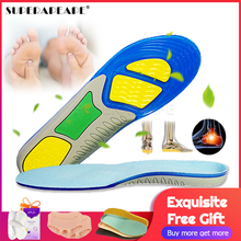 Foot-Care Shoes-Pads Silicone-Gel-Insoles Orthopedic Shock-Absorption Sport for Plantar