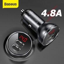 Baseus Зарядное устройство , из сплава , с двумя USB-портами, 4 а , 24 Вт , быстрая зарядка