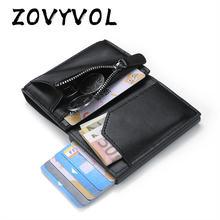 кошелек портмоне мужское Кошелек кошельки мужской кожаный zovyvol