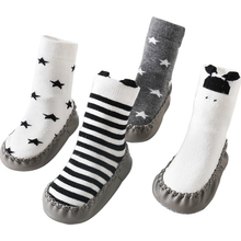 2020 new autumn and winter baby toddler shoes sock indoor non