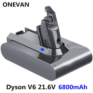 21.6V 6800mAh Li-ion Battery Replacement for Dyson Battery 4.8Ah V6 DC61 DC62 DC72 DC58 DC59 DC72 DC74 Vacuum Cleaner(China)