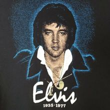 Elvis Presley Memorial T Shirt Vintage 70s 80s 1935 1977 Distressed Size XL New Funny Brand Clothing  top tee