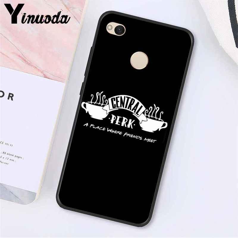 Yinuoda centralny Perk kawy przyjaciółmi program telewizyjny etui na telefon xiaomi Note3 mi5 6 A1 A2 Lite Mi9 9SE mi8lite 8explorer