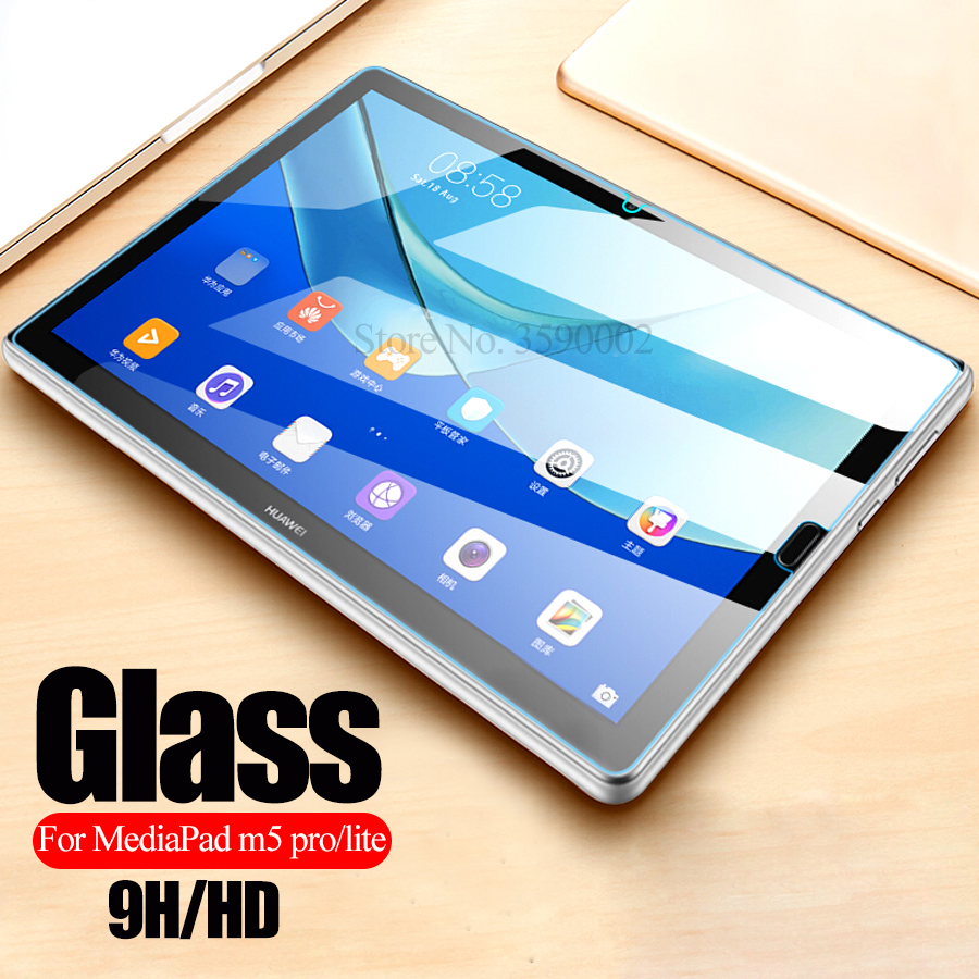 Tempered Glass For Huawei MediaPad M5 Lite Tablet Screen Protector For Media Pad M5 Pro M 5 Light M5lite M5pro Protective Film
