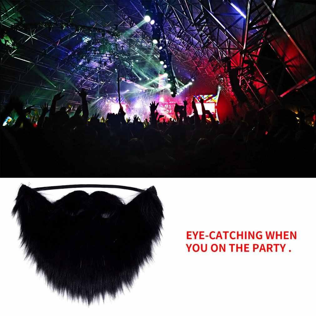 Vestido de lujo con bigote barba falsa para fiesta de disfraces de Halloween accesorios para la venta