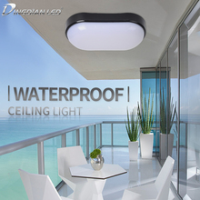16W/20W Ceiling Light 100-265V LED Modern Lamp Fixture Simple Surface Mounted Install Corridor Dampproof  Indoor lighting