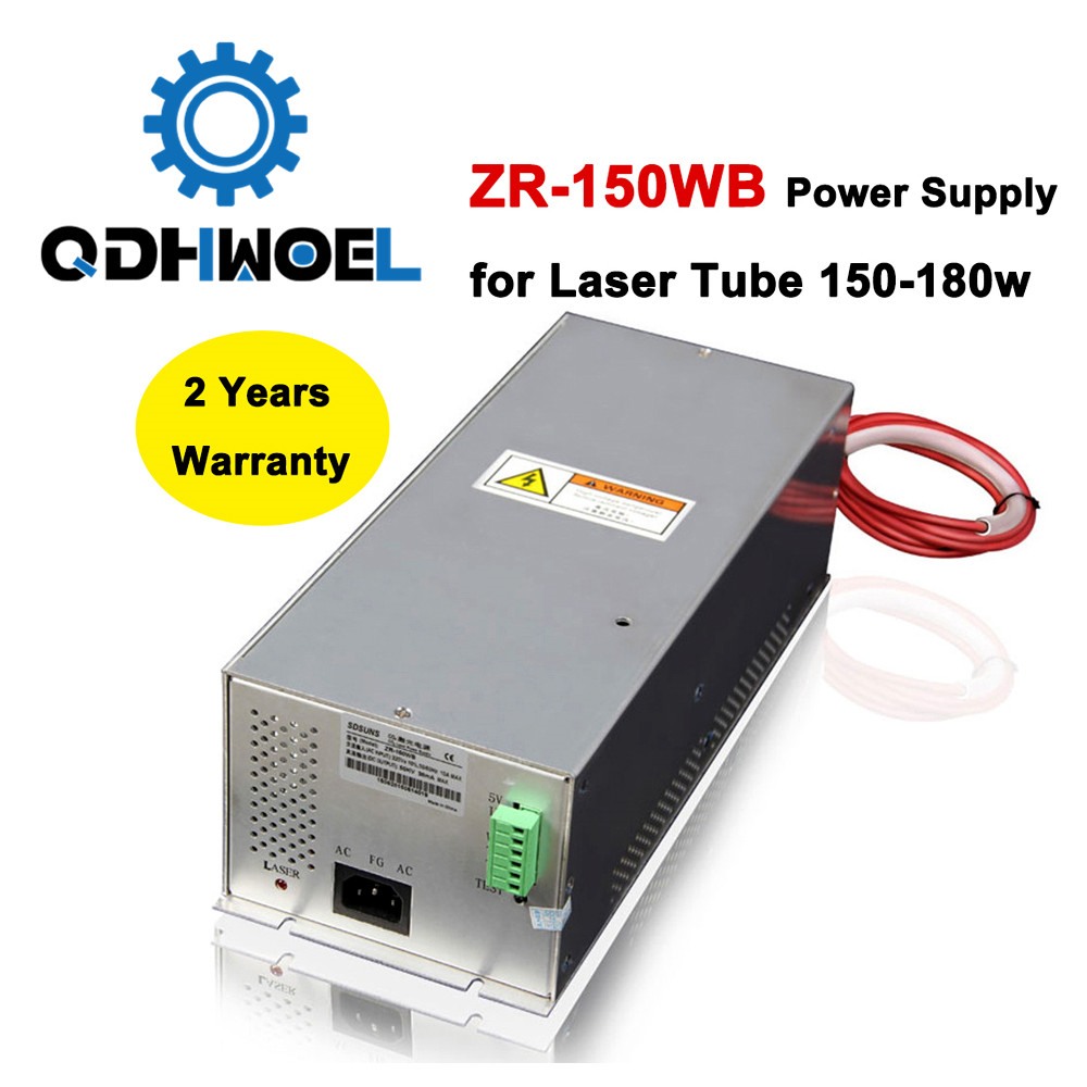 Laser Power Supply 150W ZR-150WB For 150W-180W Co2 Glass Laser Tube