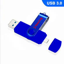 J-boxing 64GB OTG USB 3.0 Flash Drive High Speed Dual Port Micro Memory Stick For PC Macbook Tablet Huawei Xiaomi Pendrive