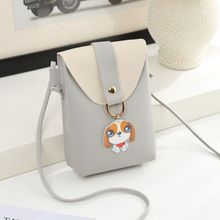 Small bag 2019 Korean version of the new leisure zero wallet mobile phone personality pendant mini cute single-shoulder