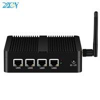 XCY X30A Firewall Router Mini PC Celeron J1900 4x GbE Intel i211 NIC WiFi 4G LTE Pfsense OPNsense Linux appliance