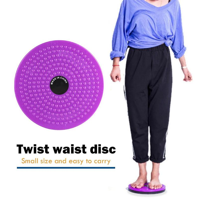 New Waist Twisting Disc Balance Board Fitness Equipment For Home Body Aerobic Rotating Sports Massage Plate Exercise Wobble