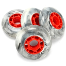 4PCS 85A Marble Wheels with High Elastic Wheels for Roller Skates Sports Wheels for Skates