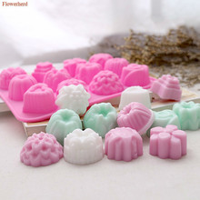Chocolate Mold Handmade Soap 12-Holes Fondant-Tools Cake-Decors Flowers DIY New