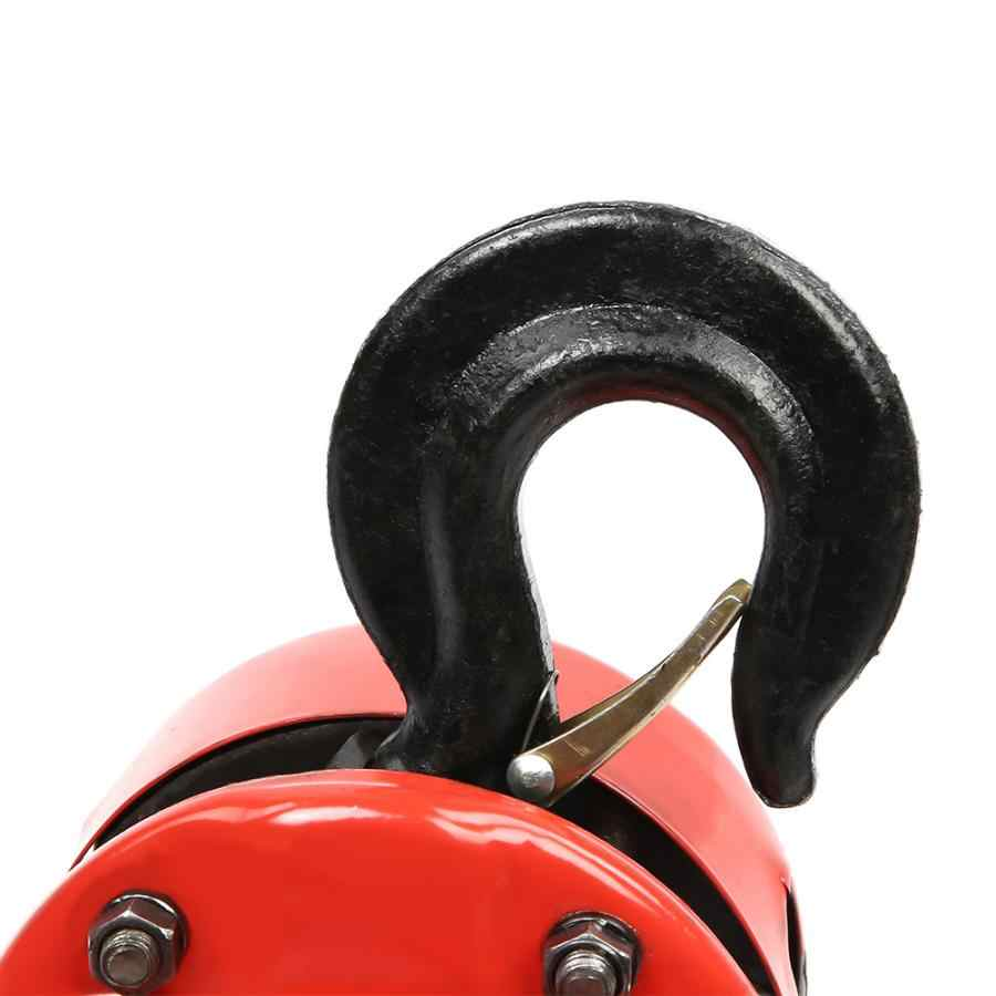 l2T Chain Puller Block Fall Chain Hoist Hand Tools Lifting Chain with Hook Lever Block Crane Lifting Sling Material