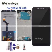 display For Xiaomi Redmi S2 LCD Display Touch Screen Digitizer Frame Assembly Replacement 5.99 inch For Redmi S2 Display +Tools цена и фото