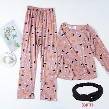 Womens Cotton Pajamas Suits