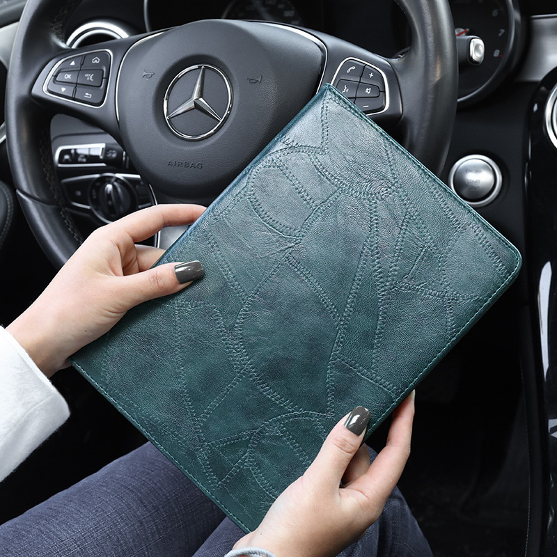2019 iPad for Leather For Smart Luxury Silicon A2232 Business A2200 ipad Case 10.2 Cover