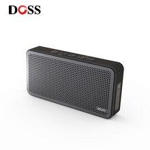 التخليص بيع DOSS مكبر صوت بخاصية البلوتوث قابل للنقل في الهواء الطلق مكبرات الصوت اللاسلكية 3.7 فولت 1000mAH البناء في هيئة التصنيع العسكري للهاتف جهاز كمبيوتر شخصي