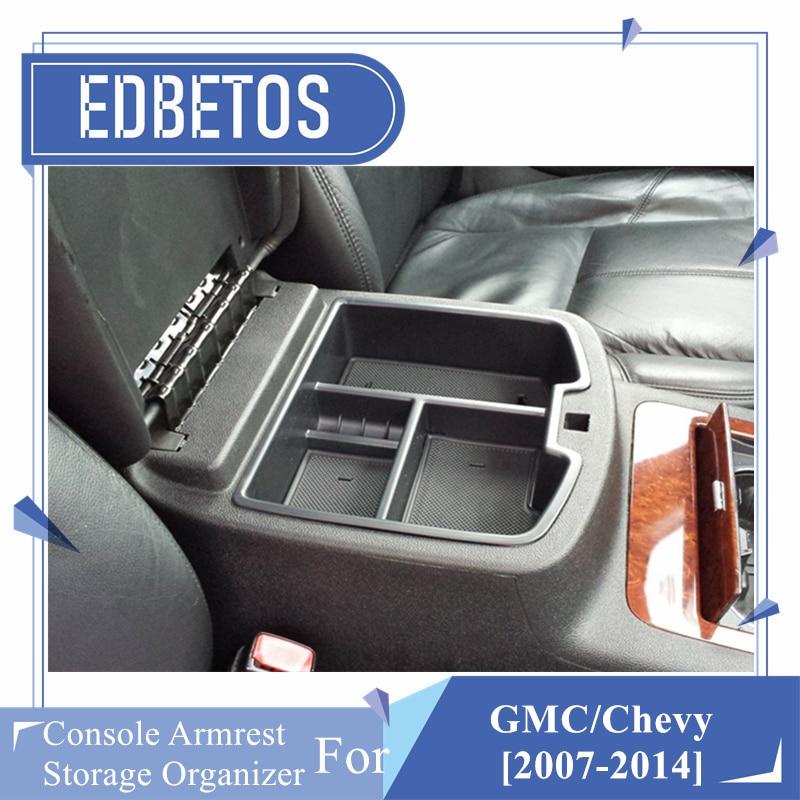 Reeauto Center Console Organizer for 2015-2018 Chevy//Chevrolet Tahoe Suburban Silverado GMC Sierra Yukon