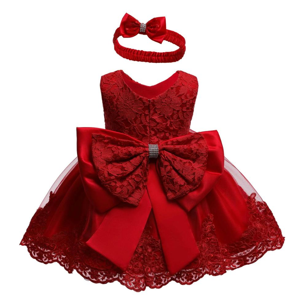 Flower Girl Wedding Party Bridesmaid Baptist Baptist Baptist Baptist Party Lace Dress Girl Eucharist First Party Dress