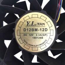 Fan 12*12 cm geschwindigkeit 6000 4pin 11 blätter miner ASIC für AntMiner S9 S9j T9 + L3 + z11 L3 + WhatsMiner M3 INNOSILICON T1