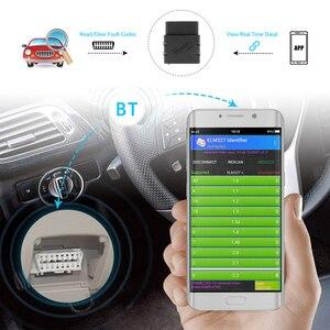 Image 2 - Vgate Vlinker Mc + Elm 327 V2.2 Bluetooth 4.0 Wifi ELM327 Voor Android/Ios Scanner Obd 2 OBD2 Auto diagnostische Auto Tool Pk
