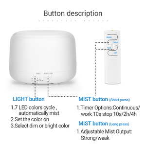 Image 5 - 300ML Ultrasonic Aromatherapy Humidifier Essential Diffuser น้ำมันเครื่องฟอกอากาศสำหรับ Home Mist Maker Aroma Diffuser Fogger LED LIGHT