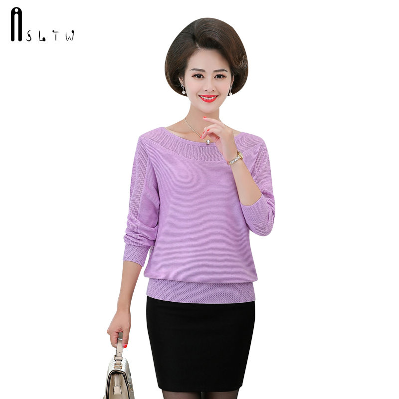 ASLTW Sweater Woman Autumn Casual Hollow Jumper Long Sleeve Pullover Pull Femme Plus Size Knitted Sweater Women