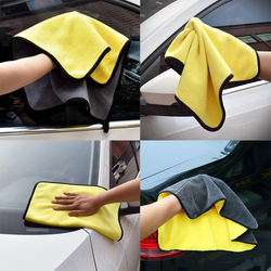 Auto Wash Tool Paint Cleaner Polishes Thick Plush Microfiber Spot Rust Car Cleaning Care Shampoo Wax Polishing Detailing Towel