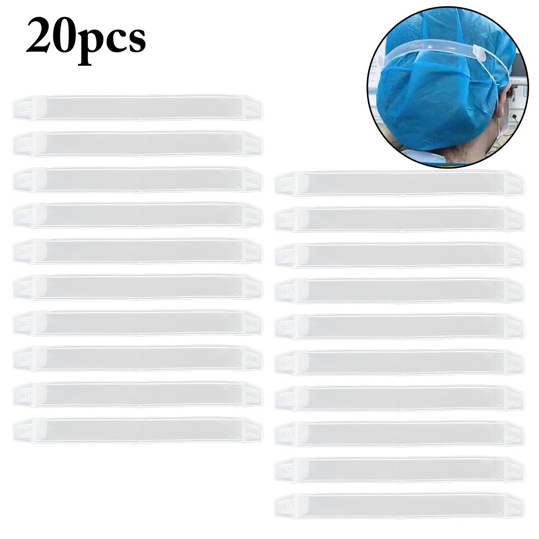 20pcs  Mask Extension Hook Adjustable Anti-slip Ear Mask Grips Creative Plastic Mask Extend Hook Mouth Mask Accessories