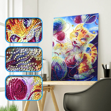 High Quality Lovely Cat Specail diamond painting cross stitch kits diamond embroidery mosaic pattern picture home decor gift