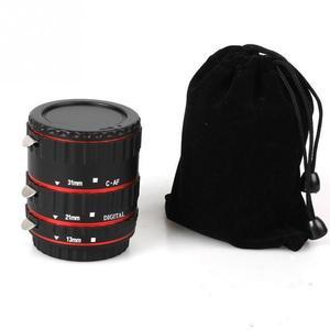 Адаптер для объектива с автофокусом AF макро Удлинительное Кольцо для объектива Canon EF-S T5i T4i T3i T2i 100D 60D 70D 550D 600D 6D 7D объектив