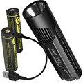 Оптовая продажа NITECORE EC4GTS высокопроизводительный прожектор + USB заряжаемый 2x18650 батареи фонарик для кемпинга Бесплатная доставка