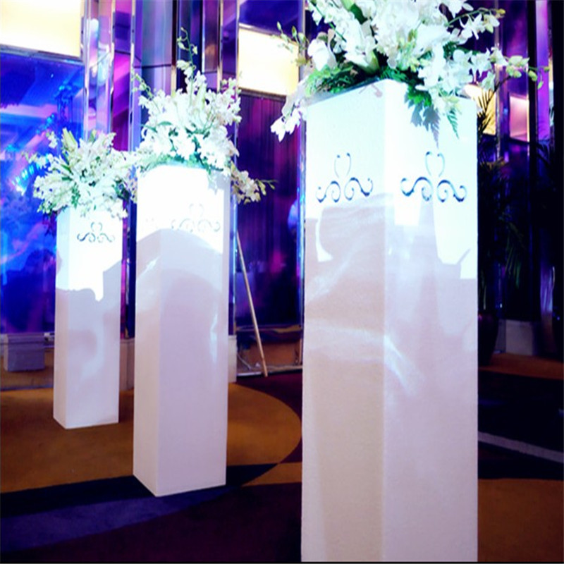 celebration : Centerpieces Luxury Clear Acrylic Wedding Table Numbers holders Calligraphy Gold Mirror Wedding Signs acrylic table numbers