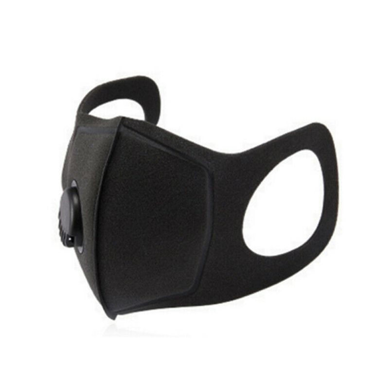 Mouth Masks Unisex Anti Dust Face Mouth Cover Protection With Breath Valve Reusable Outdoor Travel PM2.5 Mask Dustproof Hot