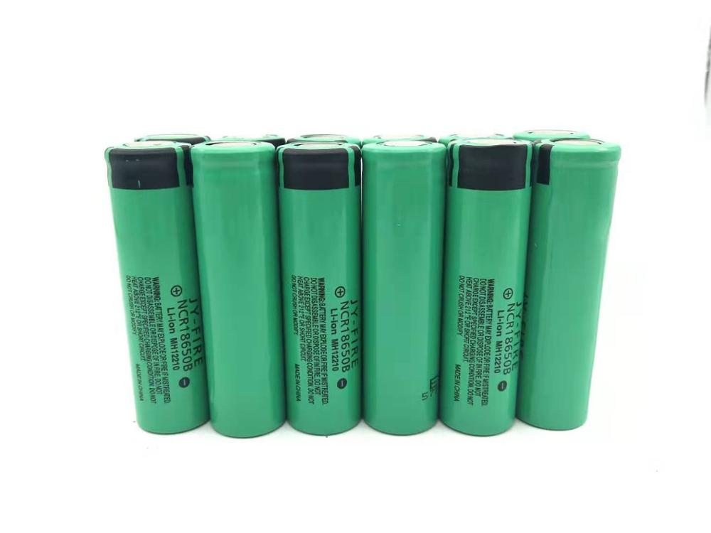 12PCS 18650 3.7V Battery Lithium 3400 mah Rechargeable For Flashlight batteries