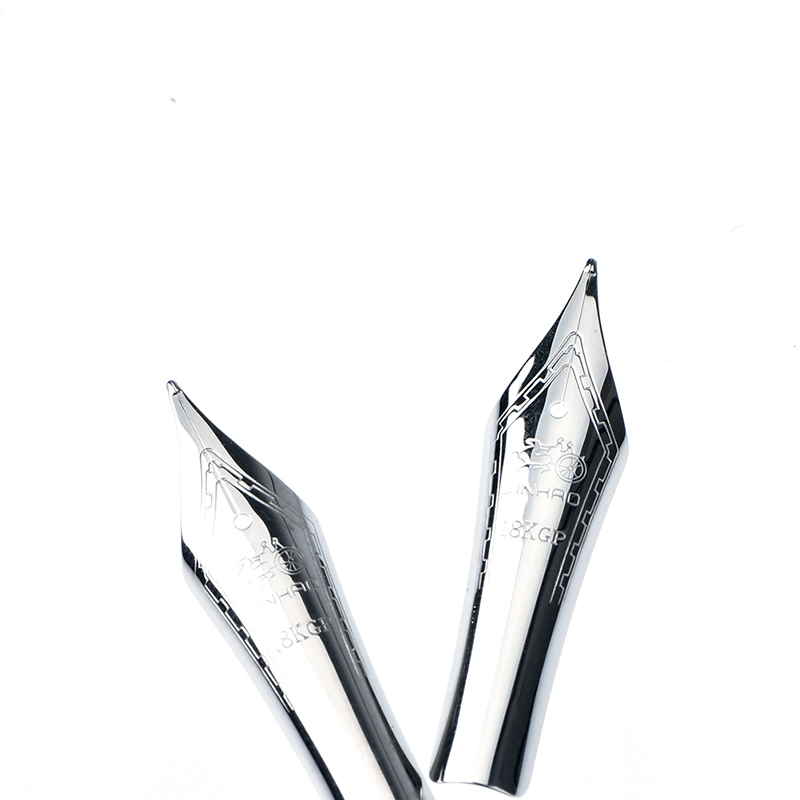 1pc 0.5mm Fountain Pen Replacement Nib Universal Fountain Pen Stainless Steel Tip