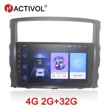 HACTIVOL 2G+32G Android 8.1 Car Radio for Mitsubishi Pajerao V93 V97 2006-2014 car dvd player gps navi car accessory 4G internet