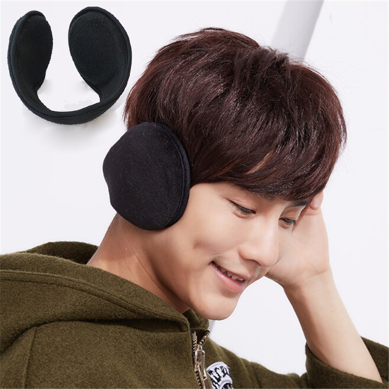 Cotton Earmuffs Soft Thicken HeadBand Plush Ear Cover Muff Protector Earflap for Men Women Girls Ear Winter Warmer